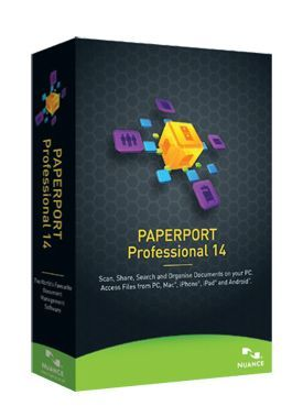 Nuance PaperPort 14.0 Professional International English