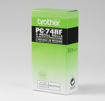 Brother PC74 Refill 4 Pack