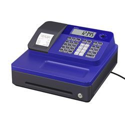 Casio SE-G1 Cash Register Blue