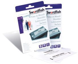 Swordfish Shredder Sachets - 1 Pack of 12 Sachets