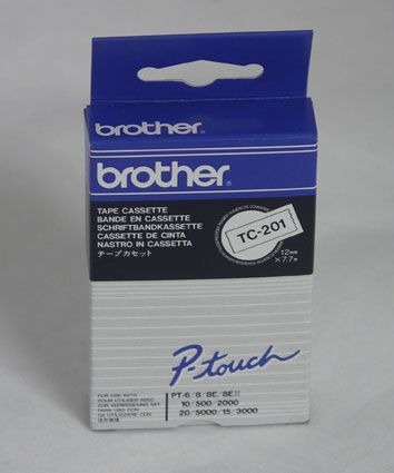 Brother TC201 Black on White
