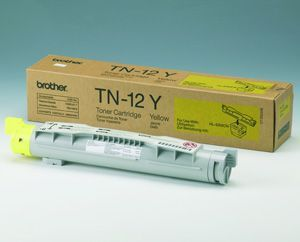 Brother TN-12Y Yellow Toner