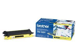 Brother TN-135Y Yellow Toner 4K