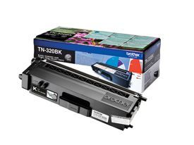 Brother TN-320BK Black Toner 2.5K