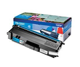 Brother TN-320C Cyan Toner 1.5K