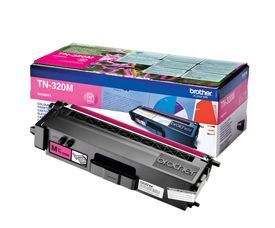 Brother TN-320M Magenta Toner 1.5K