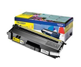 Brother TN-320Y Yellow Toner 1.5K