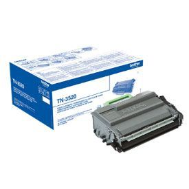 Brother TN3520 Black Toner 20000 Page Yield