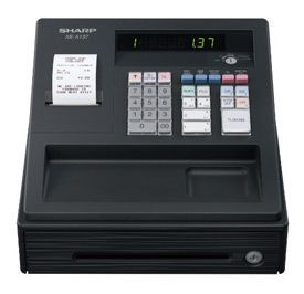 Sharp XE-A137 Black Cash Register