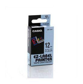 Casio XR-12X Black on Clear