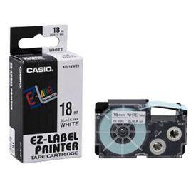 Casio XR-18WE Black on White