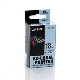 Casio XR-18X Black on Clear