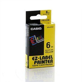 Casio XR-6YW Black on Yellow