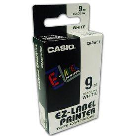 Casio XR-9WE Black on White