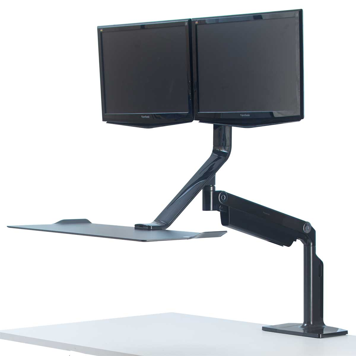 Fellowes 0009801 Extend Sit Stand Work platform - Dual