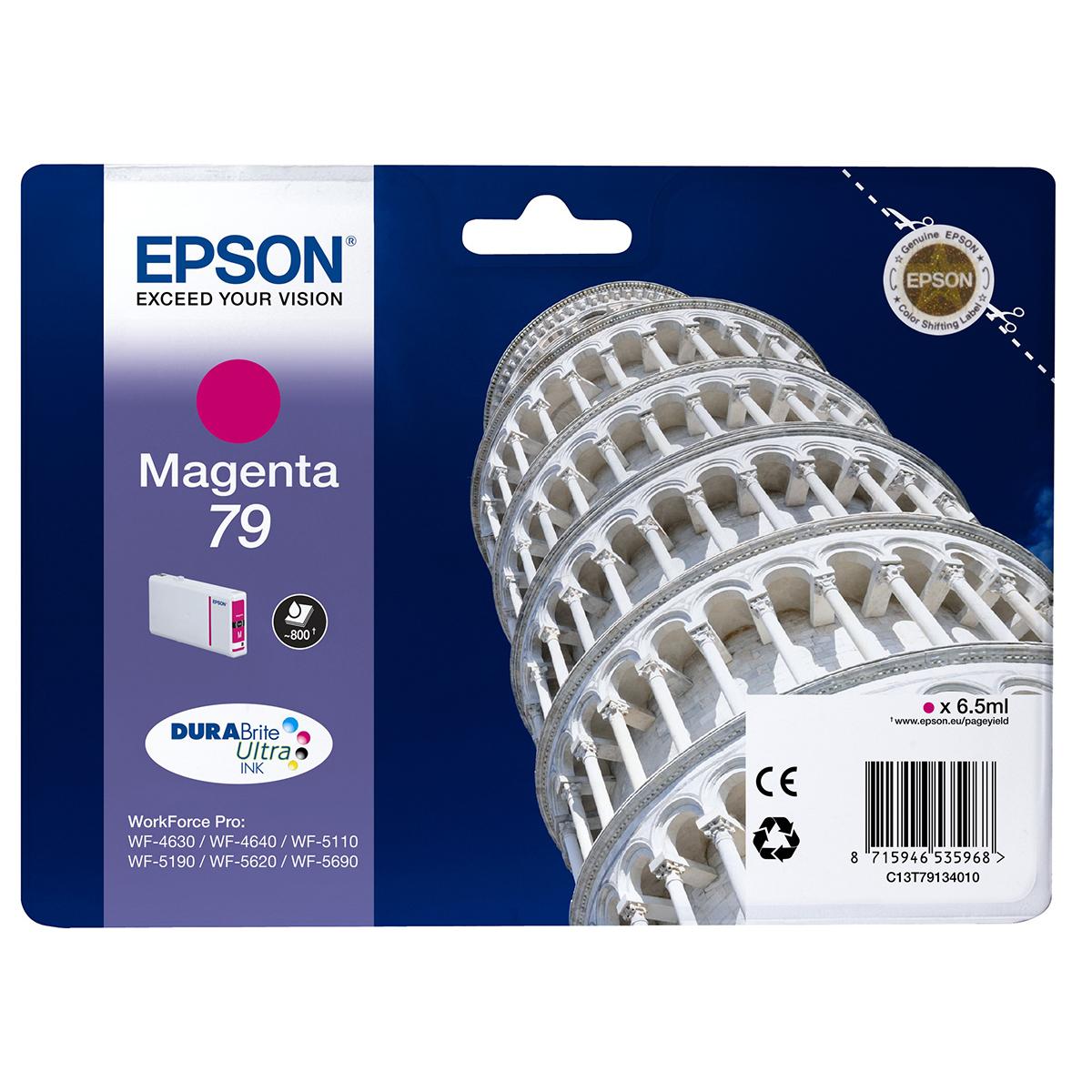 Epson 79 Durabrite Ink Cartridge Magenta