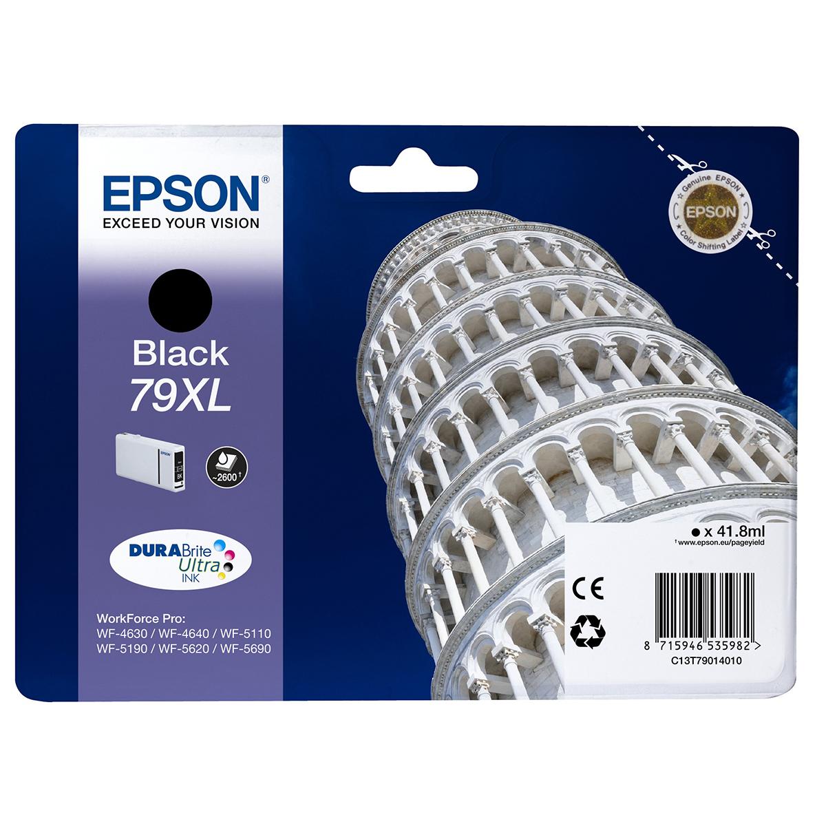 Epson 79XL Ink Cartridge Black