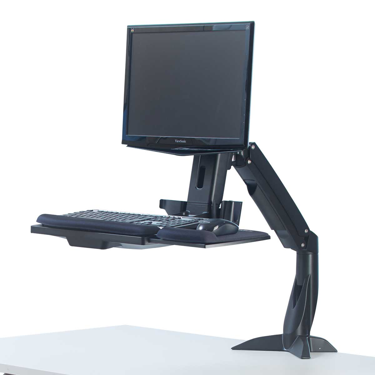 Fellowes 8204601 Easy Glide Sit Stand Work Platform