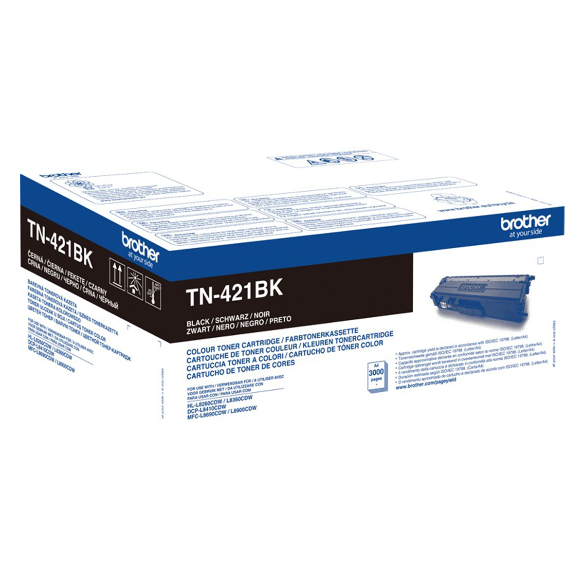 Brother TN-421BK Black Toner