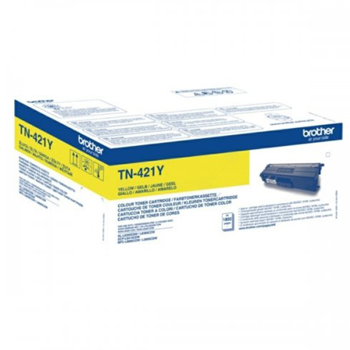 Brother TN-421Y Yellow Toner