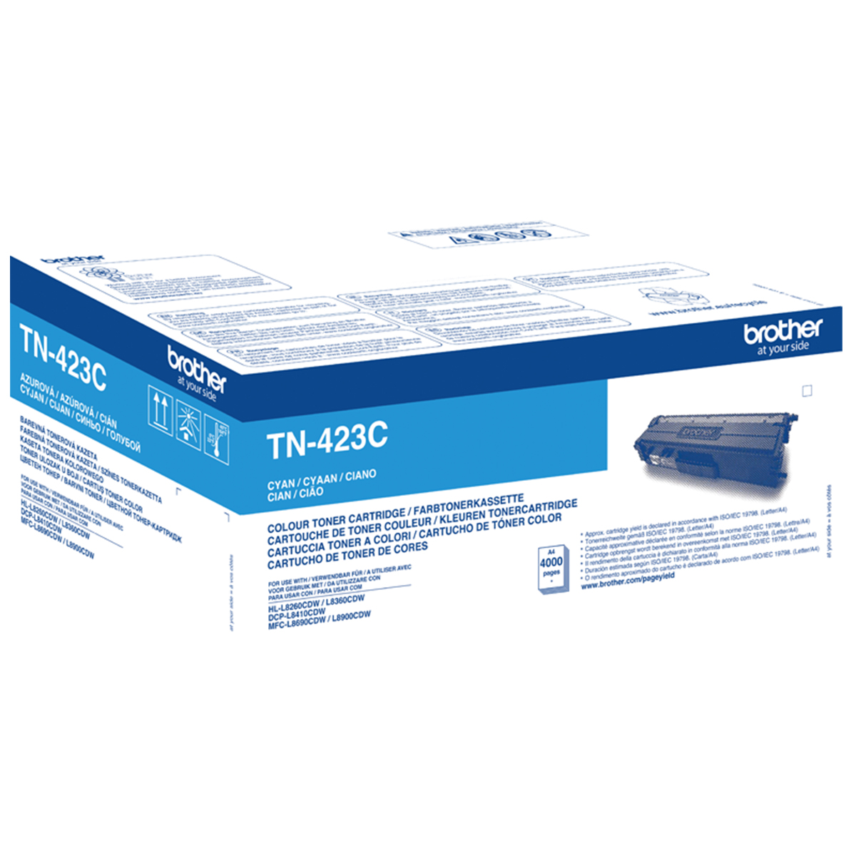 Brother TN-423C High Yield Cyan Toner