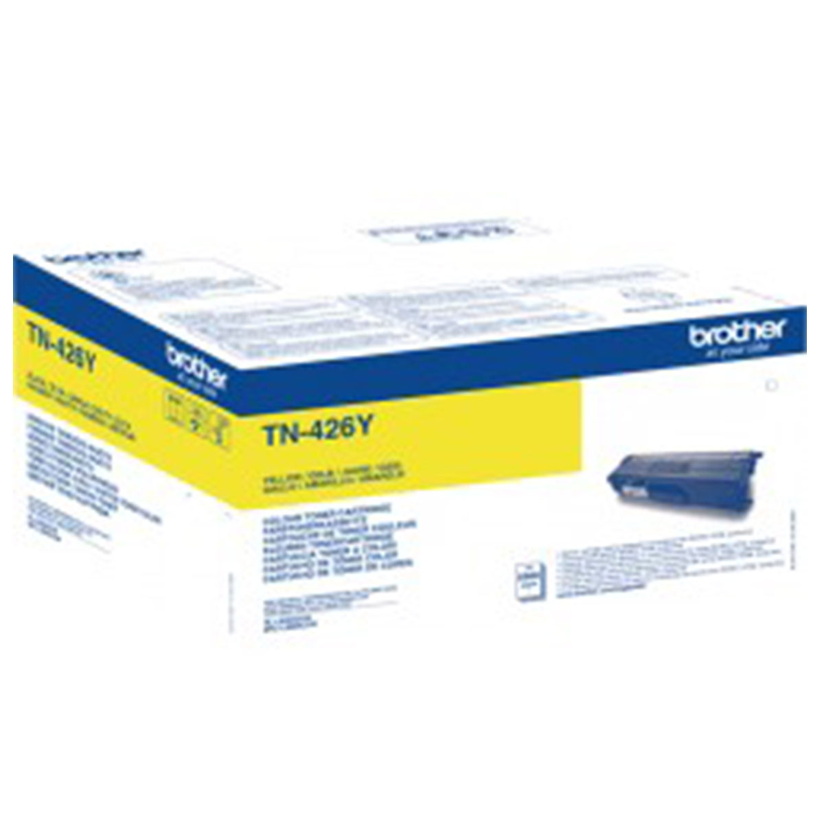 Brother TN-426Y Super High Yield Yellow Toner
