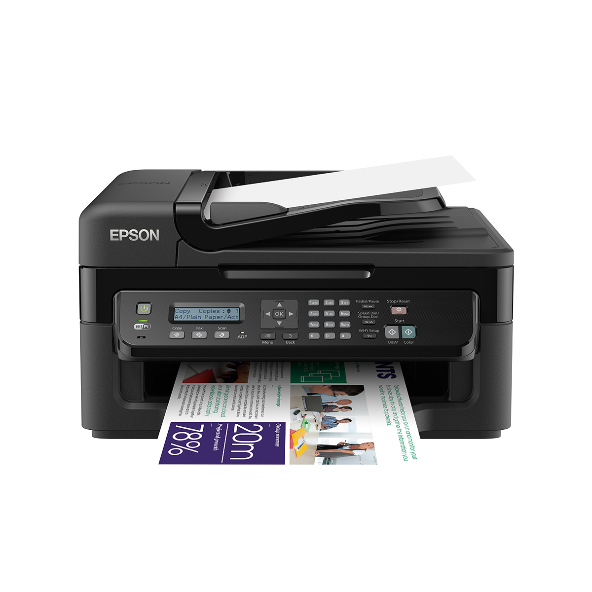 Epson WorkForce WF-2630WF Colour Inkjet All-In-One Multifunction